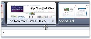 Opera 可视化标签,切换网页更方便