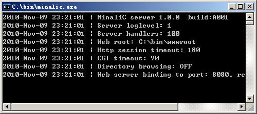 Minalic Web Server